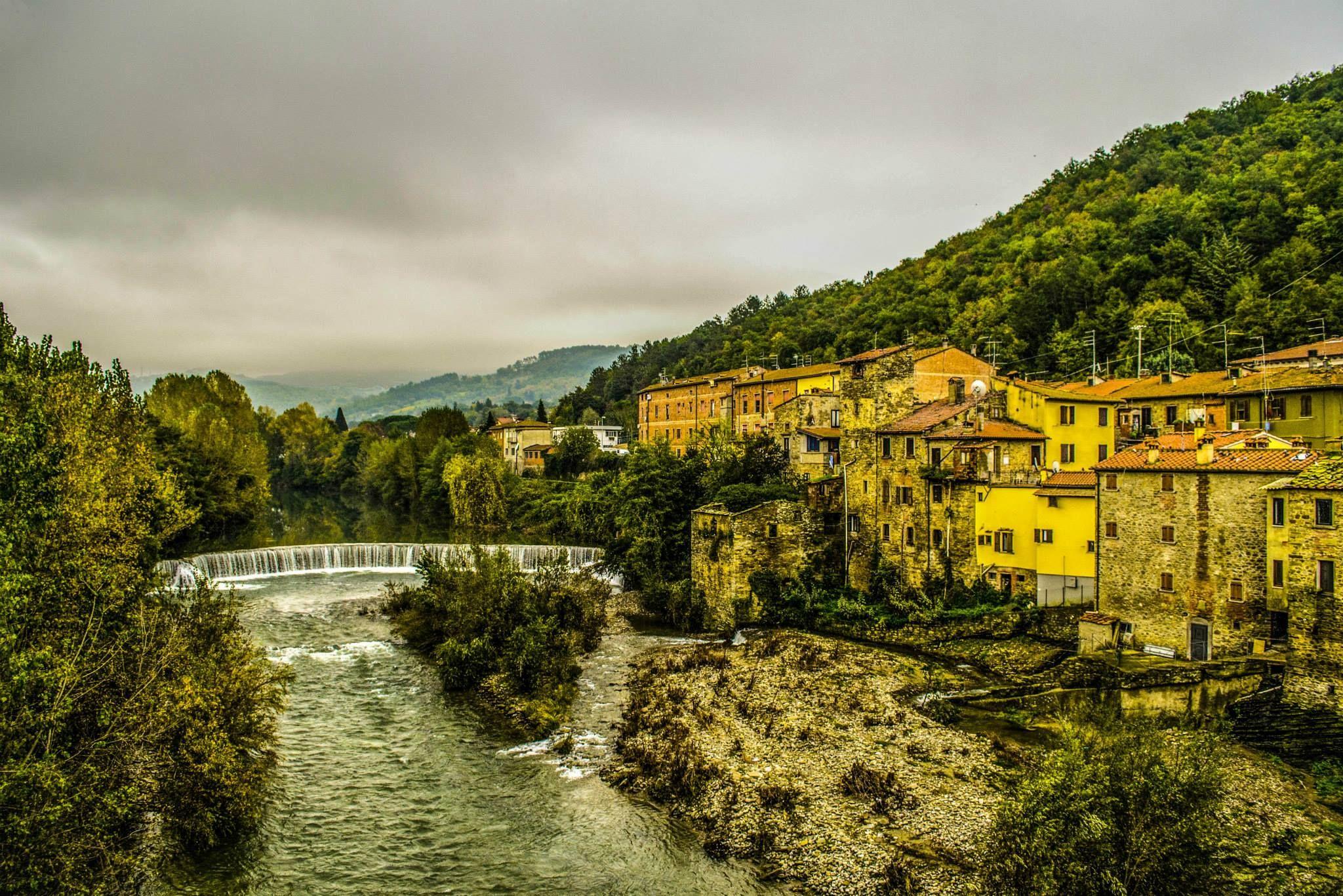 408 Fiume Arno Ponte Caliano Subbiano Arezzo Toscana