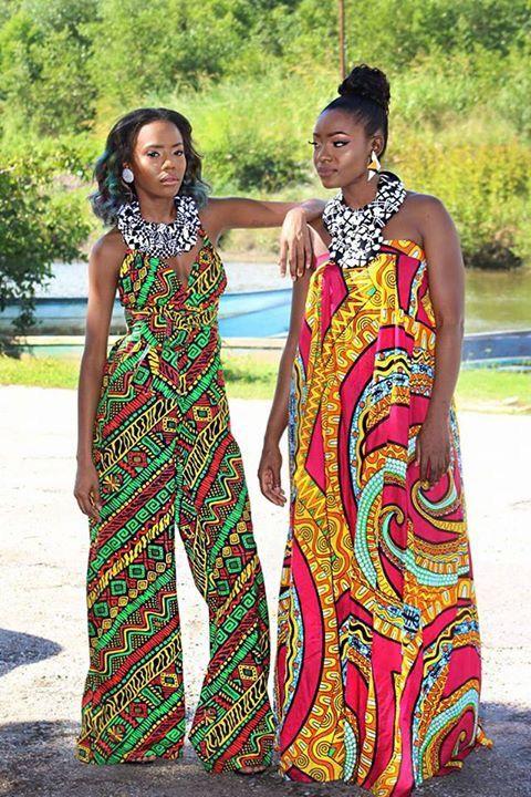 African Print Dress Designer Loud By Afiya Bishop Trinidad Tobago African Fashion Fashion African Print Dress