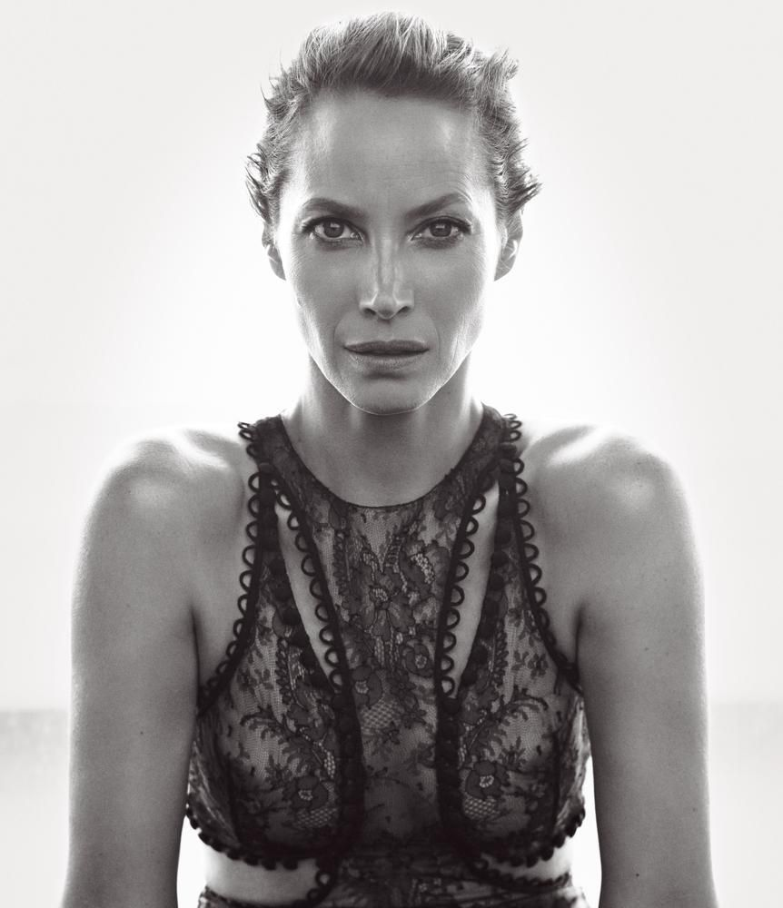 Christy Turlington by Mikael Jansson for WSJ Magazine March