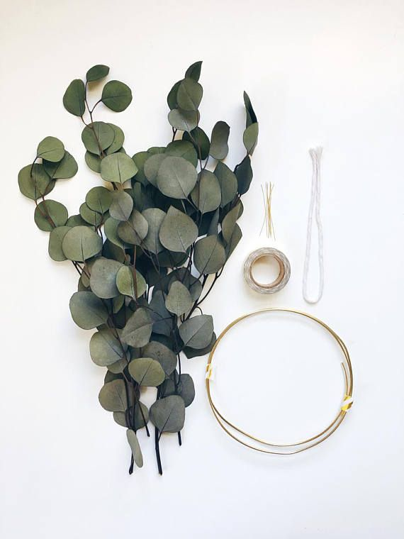 Photo of Modern Wreath | Eucalyptus Wreath | Scandinavian Wreath | Minimalist Wreath | DIY Fall Wreath | Christmas Holiday Wreath | DIY kit