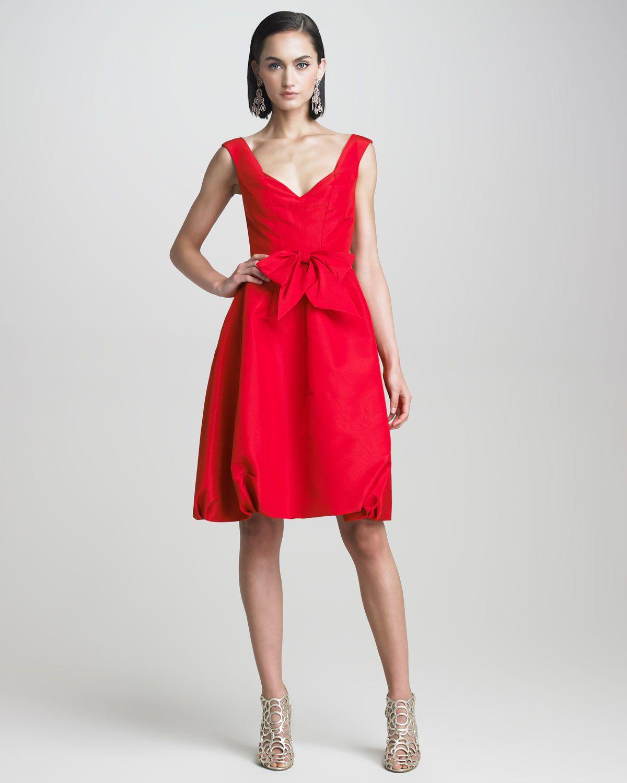 Httpdocchirooscar De La Renta Faille Bubble Dress P 2870