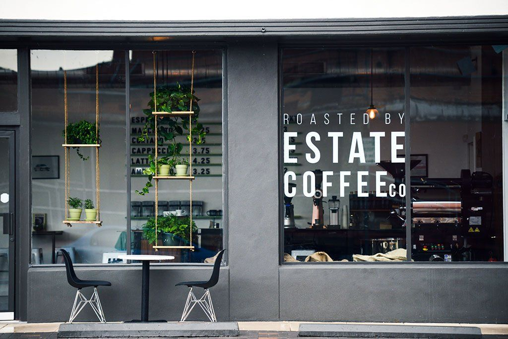 Estate coffee company inhouse roasted coffees or