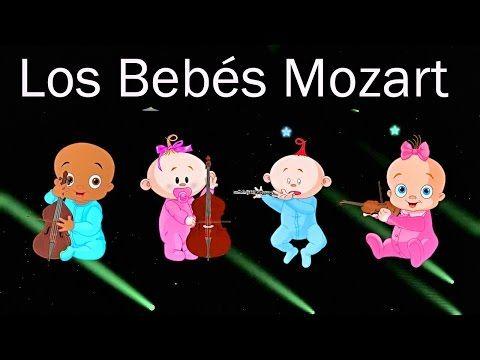 Los Bebés Mozart En El Mundo Efecto Mozart Para Bebés Calma El Llanto Canciones De Cuna Musica Para Bebes Canciones Para Dormir Canciones Para Bebés