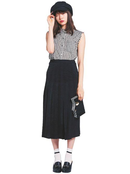 流行のロングスカートは絶対にプ○○ツありを! NET ViVi 講談社『ViVi』オフィシャルサイト