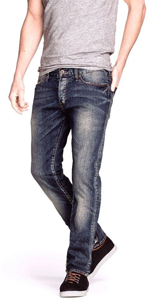 Slim low jeans h&m