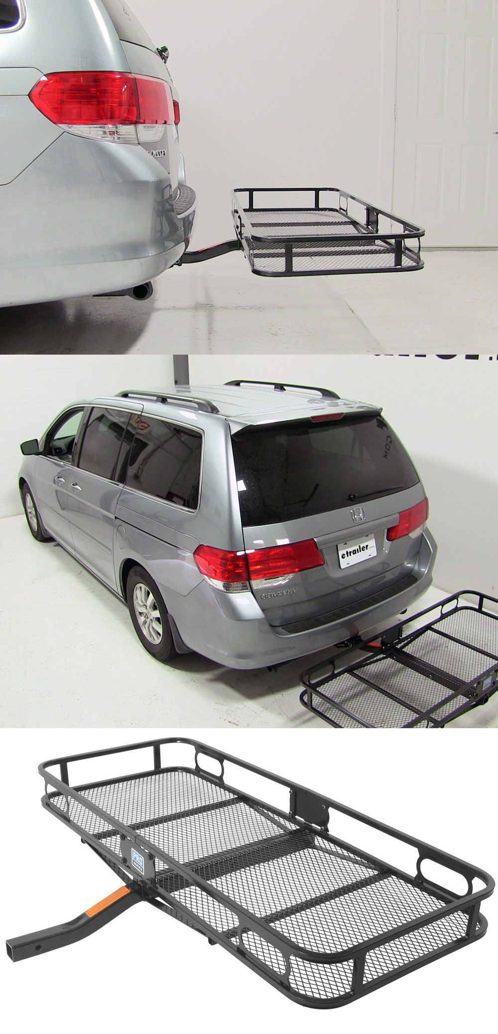 "24x60 Reese Cargo Carrier for 2"" Hitches Steel 500 lbs"