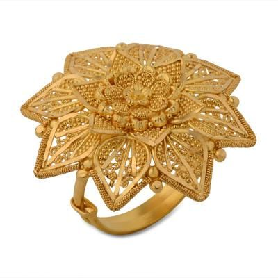 flower ring rings online for floral shape design gold cts diamond women
