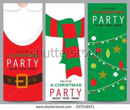 Christmas Invitation Template Card Can Be Use For Business