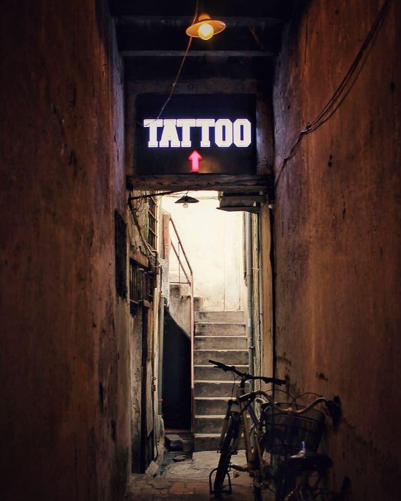 It's never too late to be who you wanna be . . . . . . . #tattoo #tattoos #tattooshop #ig_tattoo #bite #vietnam #hanoi #...
