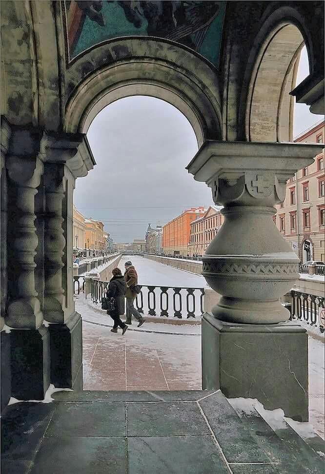 View from Church of the Savior on Spilled Blood, St. Petersburg, Russia