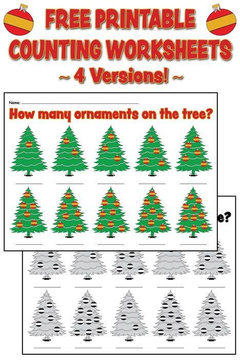 How Many Ornaments On The Tree?\