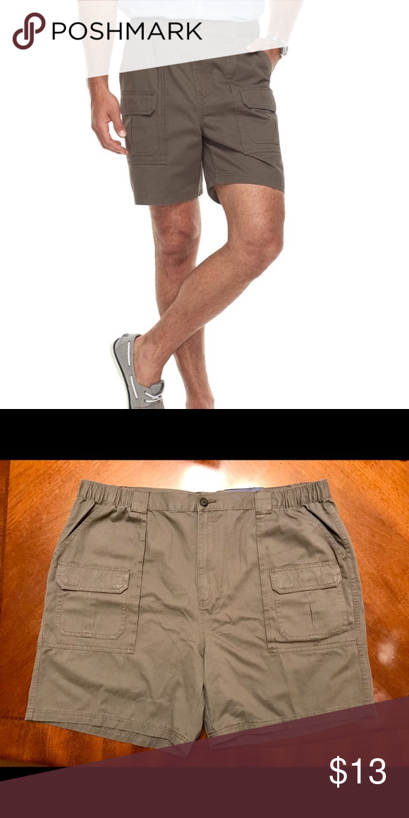 3dd93098 Croft & Barrow Classic Fit Elastic Cargo Shorts 44 Explore your world in  style and comfort with these men's Croft & Barrow cargo shorts.