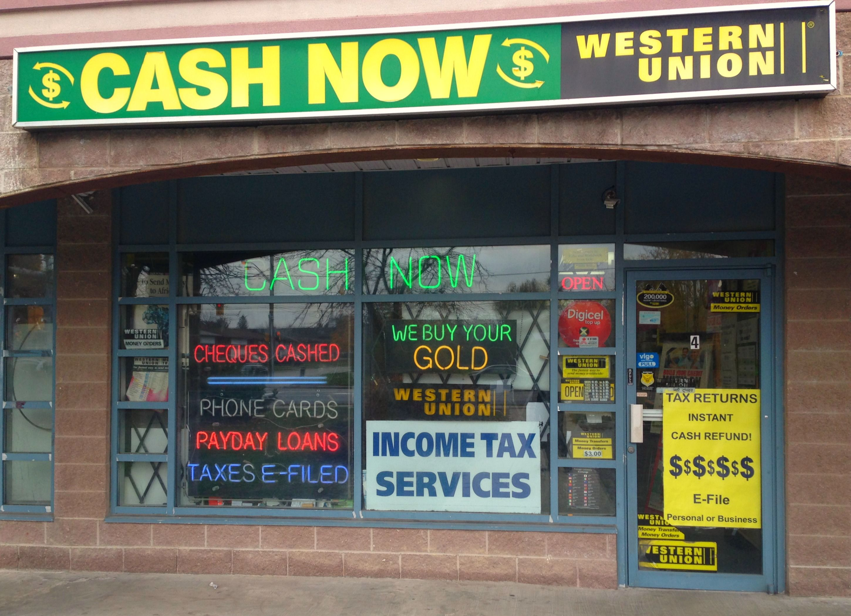 Cash Now Malton Currency Exchange In Mississauga On