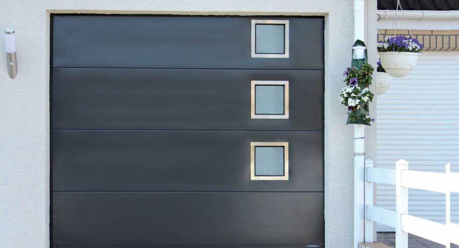 Porte De Garage Avec Fenetre Porte Garage Maison Maison Design