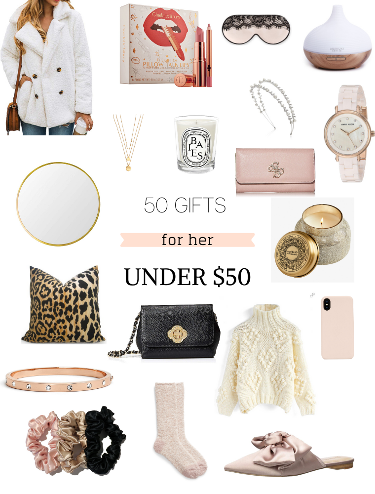 50 Gorgeous Gifts For Her Under 50 Christmas Gifts For Women Luxury Gifts For Women Gifts For Women