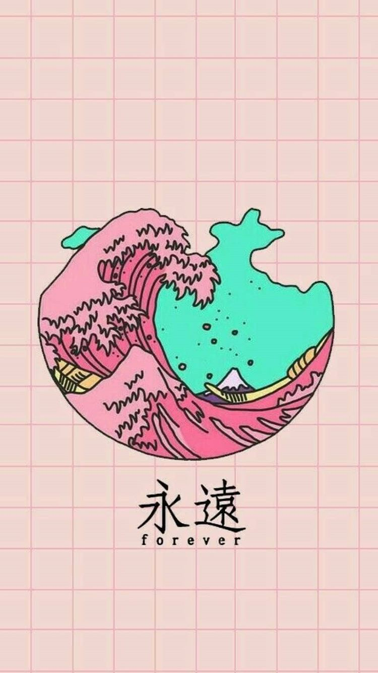 Pin by Violet on Maybe use ️ Vaporwave wallpaper, Kawaii