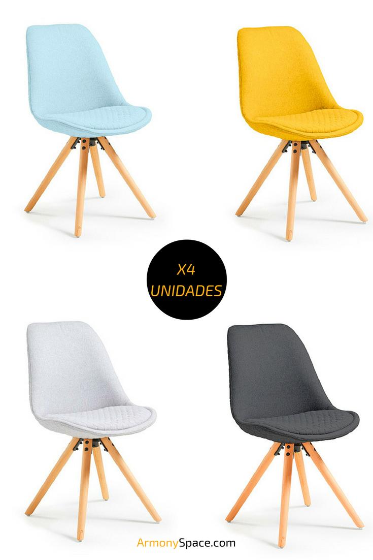 Silla estilo n rdico sasha tejida nordic style chair - Sillas con estilo ...