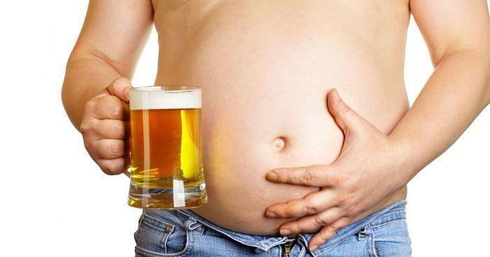 como quitar la panza cervecera
