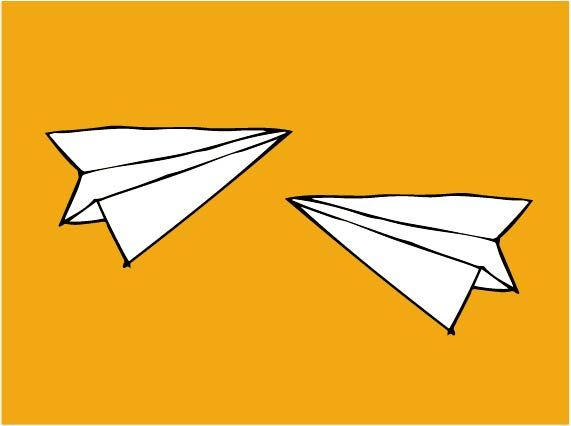 An Entry From Good Grief Airplane Illustration Paper Plane Paper Airplanes