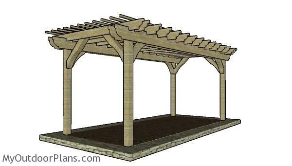 This step by step diy project is about 10x20 pergola plans ... on 10X20 Patio Ideas id=94464