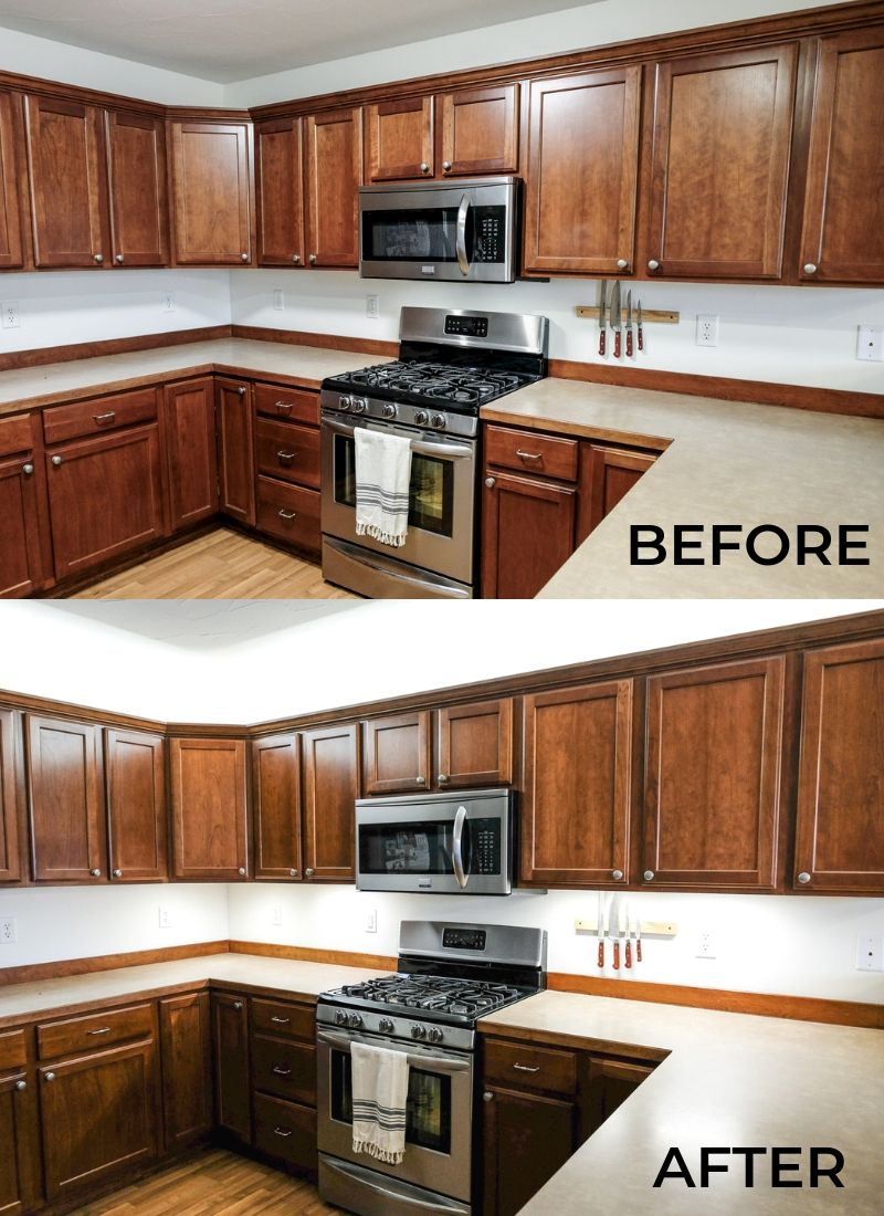 Looking For Cabinet Lighting Ideas? This DIY Under Cabinet
