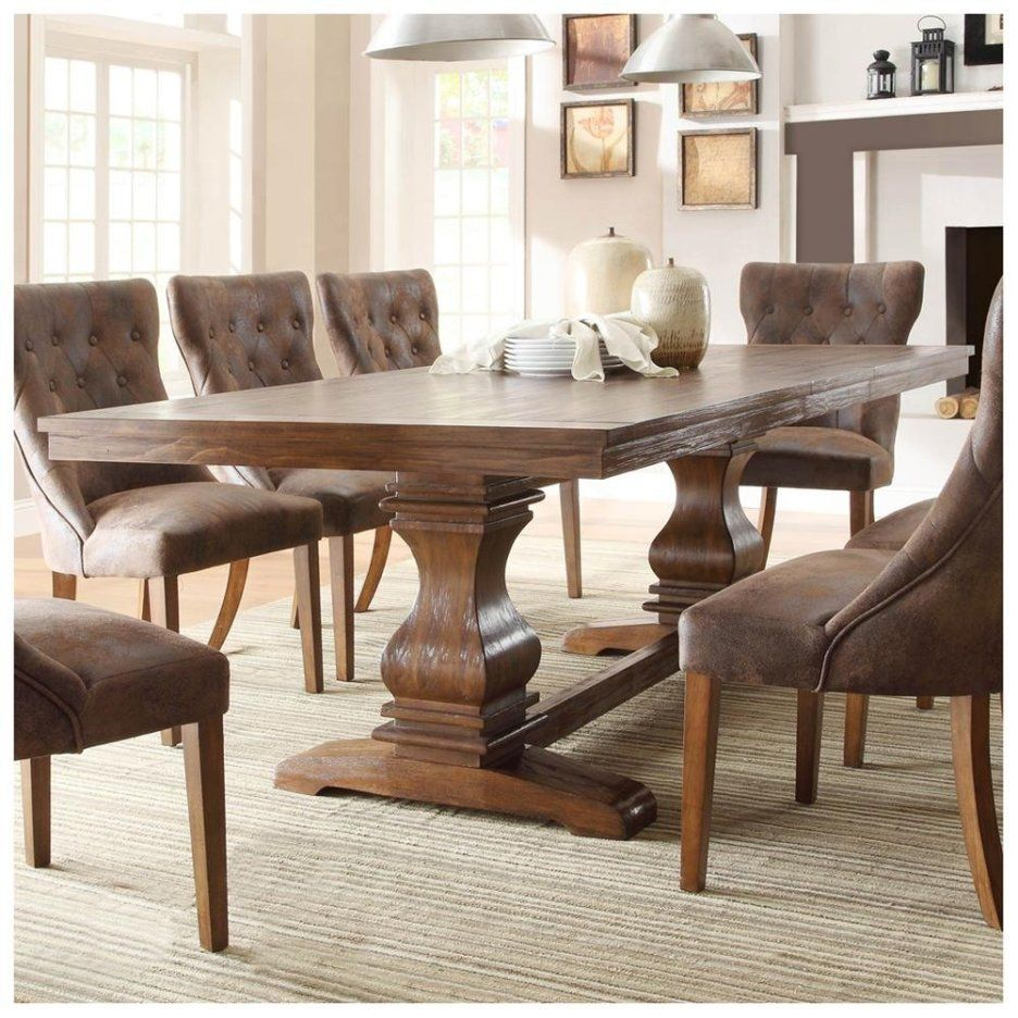 Furniture, : Lovable Rustic Dining Room Decoration With