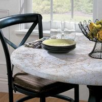 Round Elasticized Table Cover Improvements 15 With Images Round Table Covers Fitted Table Cover Table Covers