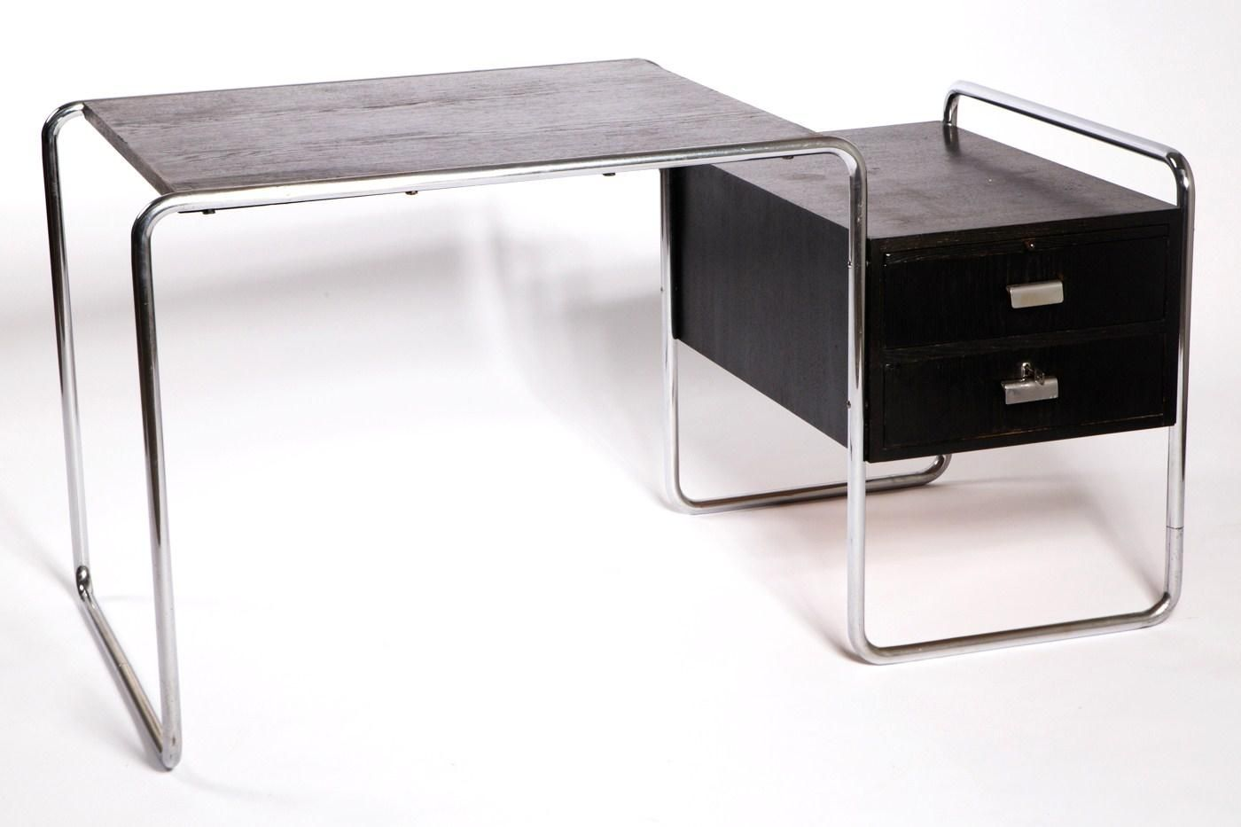 Thonet Esstische B65 Writing Desk By Marcel Breuer For Thonet 1930s 1