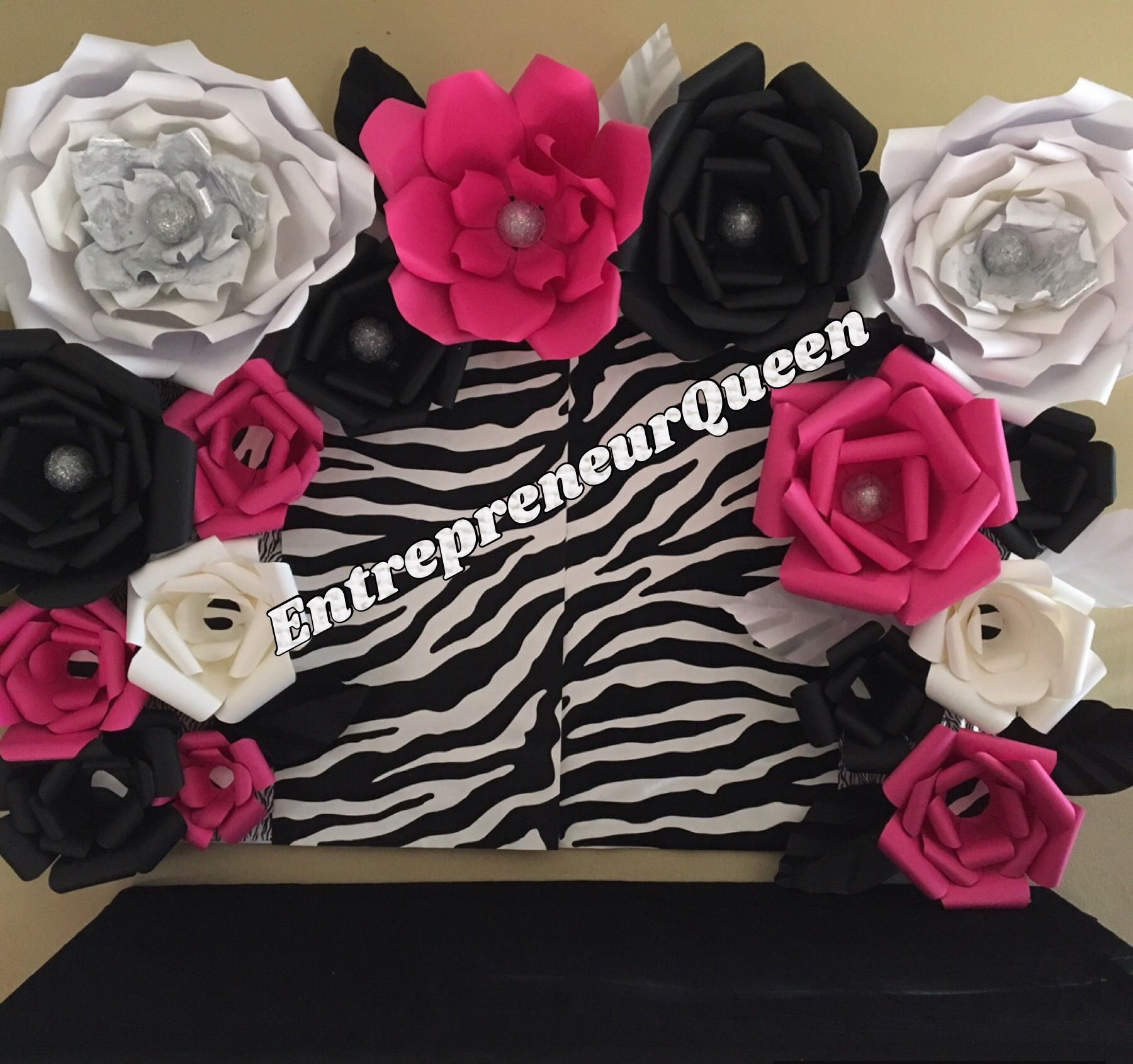 Duel Birthday Decor Zebra Barbie And Princess Themes: Barbie Zebra Print Birthday Party Candy…