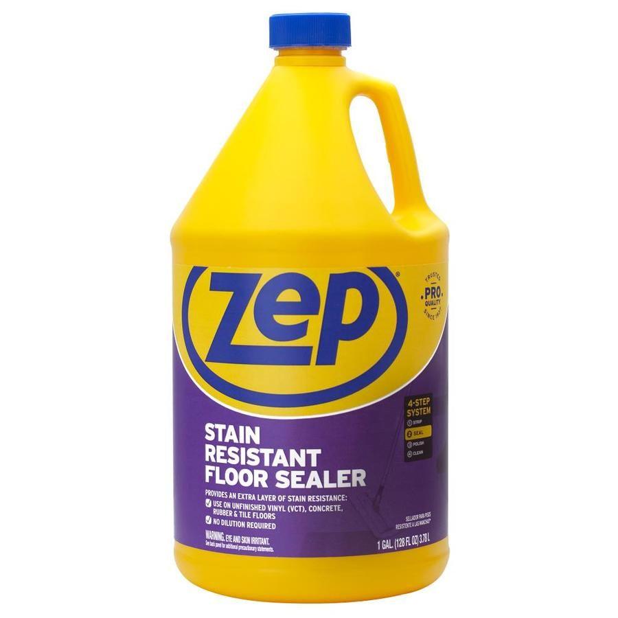 Zep Stain Resistant Floor Sealer 128 Fluid Ounce S Floor Polish