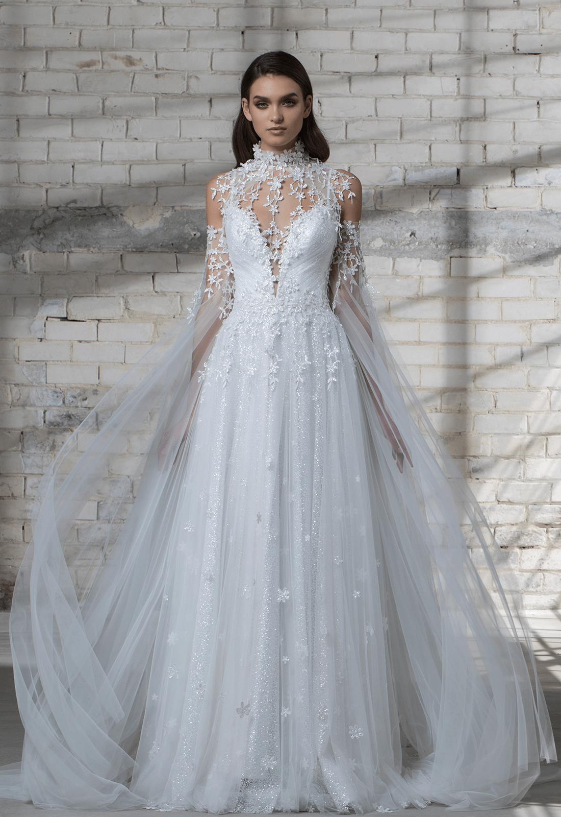 Style No 14672 Cape Bridal Dresses Most Expensive Wedding Dress Expensive Wedding Dress