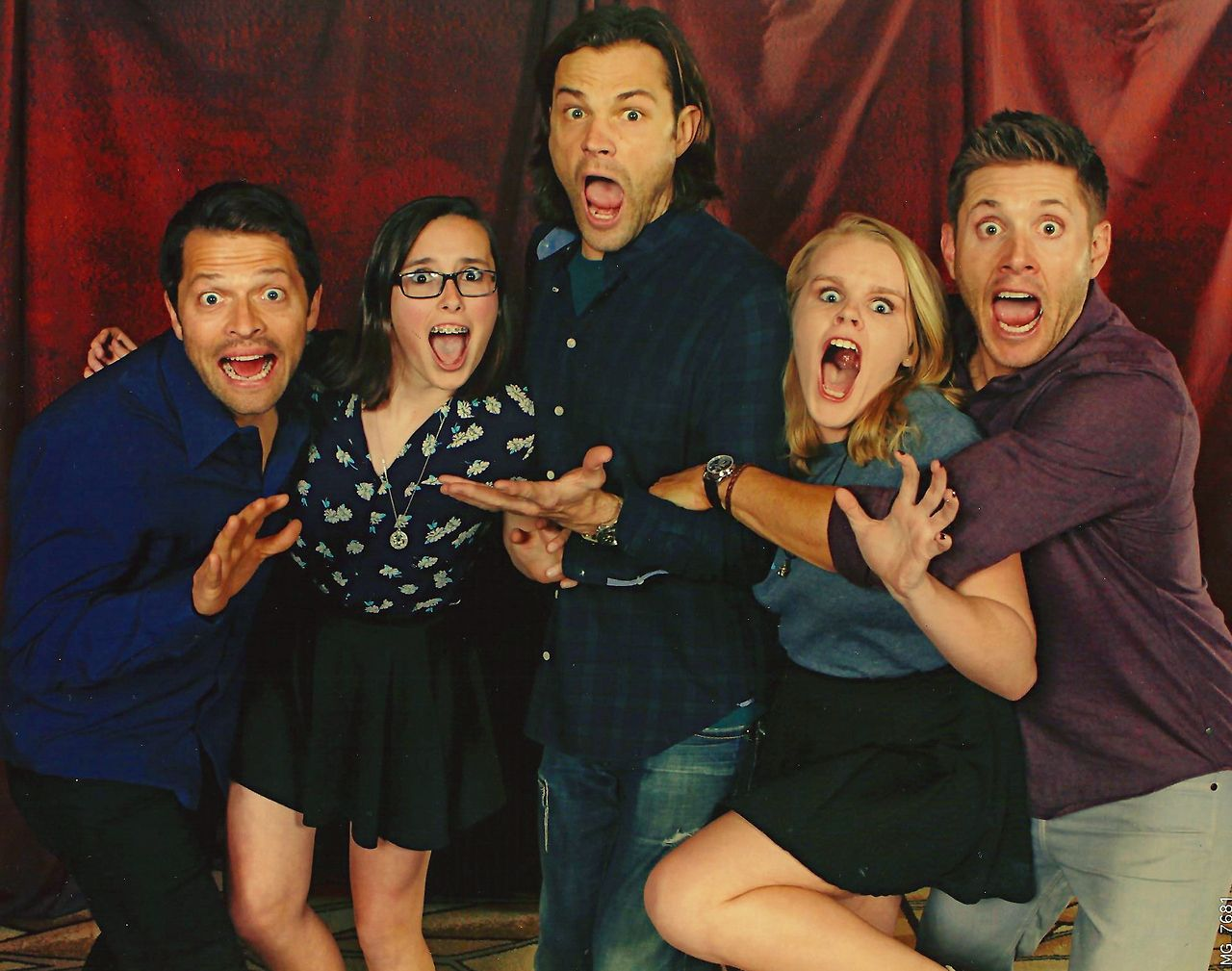 Best Supernatural Photo Op Poses Images On Pinterest Actors - 22 side splitting haunted house reactions