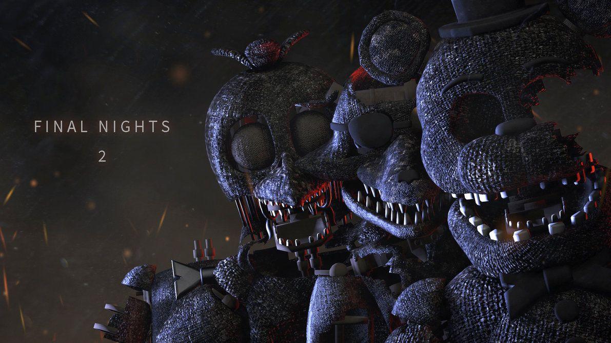 Final Nights 2 by shadow-F1end | Fan art, Five nights at