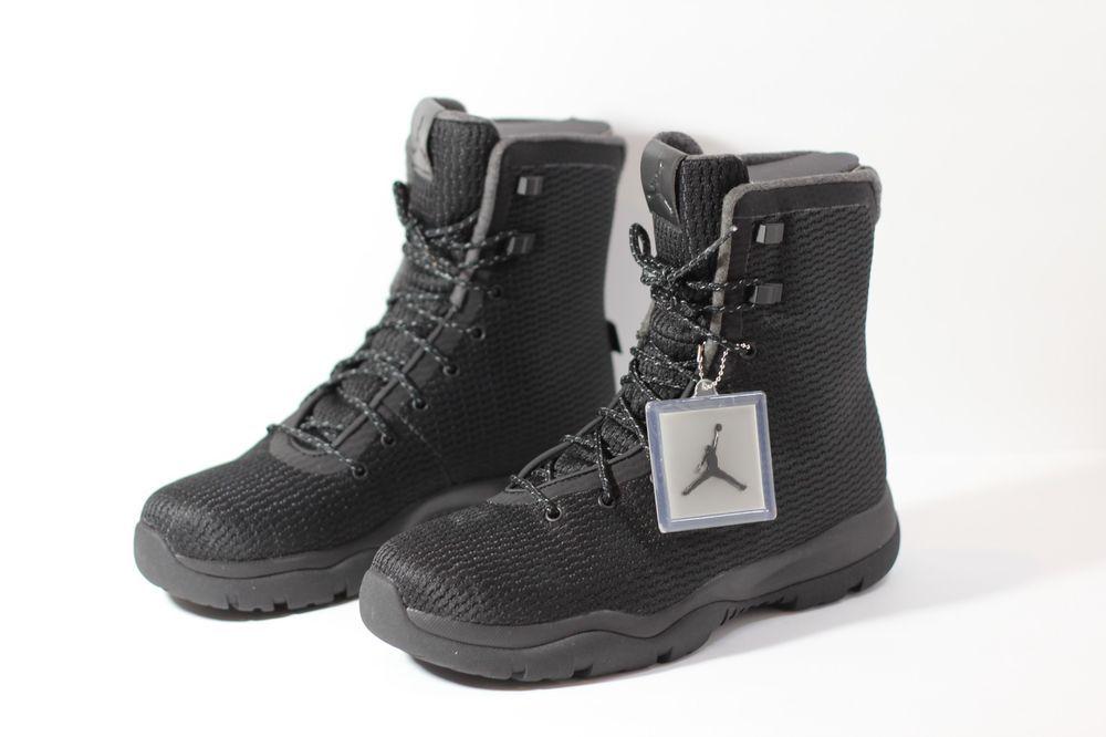 76dd586a832646 Details about NEW Air Jordan Future Boot Black Men s Event ...
