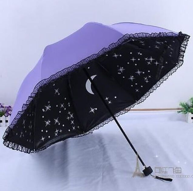NEW Cute lace women new folding parasol for windproof anti Uv sun umbrellas rain | eBay #cuteumbrellas