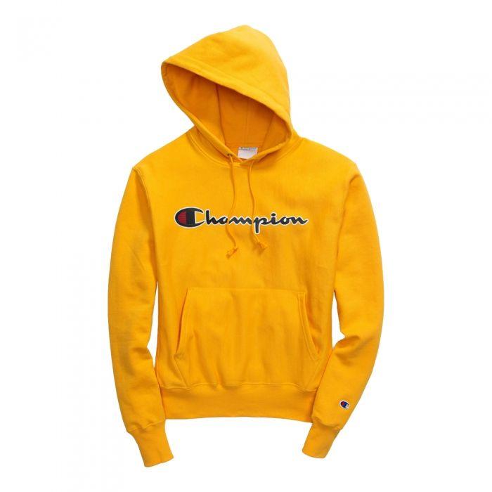 Grey Champion LOGO Mens Champion Reverse Weave Pullover Sweatshirt