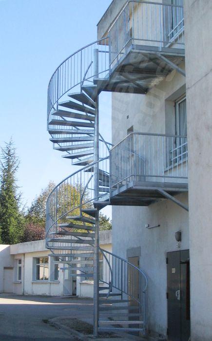 Photo IH38 - SPIRu0027DÉCO® Larmé Escalier hélicoïdal du0027extérieur - realiser un escalier exterieur