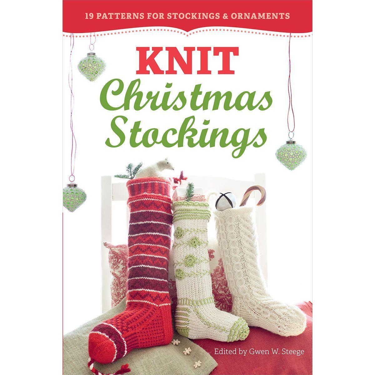 Storey Publishing-Knit Christmas Stockings | Products | Pinterest