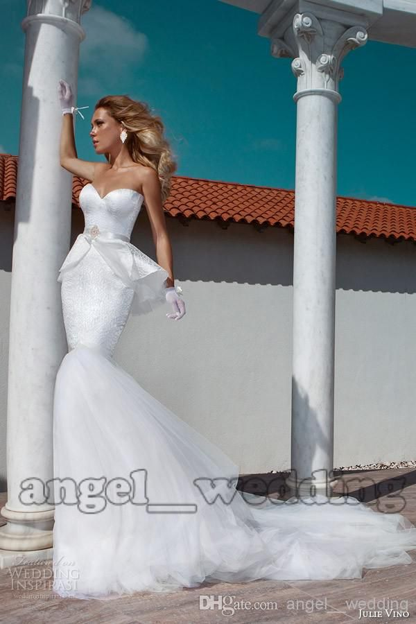 Wedding Dresses Wedding Dress Mermaid Trumpet Sweetheart Floor Mermaid Wedding Dresses | Buy Wholesale On Line Direct from China