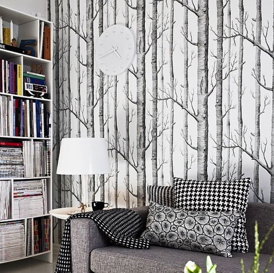 Details About Cole Son Woods Wallpaper Birch Tree Branches