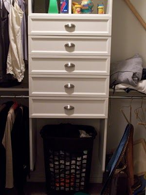 Everything In This Closet Is Getting Done In Mine! Ingenious. DIY  Everything Including Drawers
