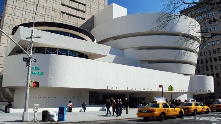 Frank Loyd Wright , the Guggenheim NYC