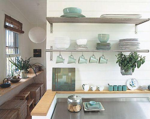 ikea kitchen shelves stainless steel interiors residential rh pinterest com IKEA Wall Shelves Wall Shelves