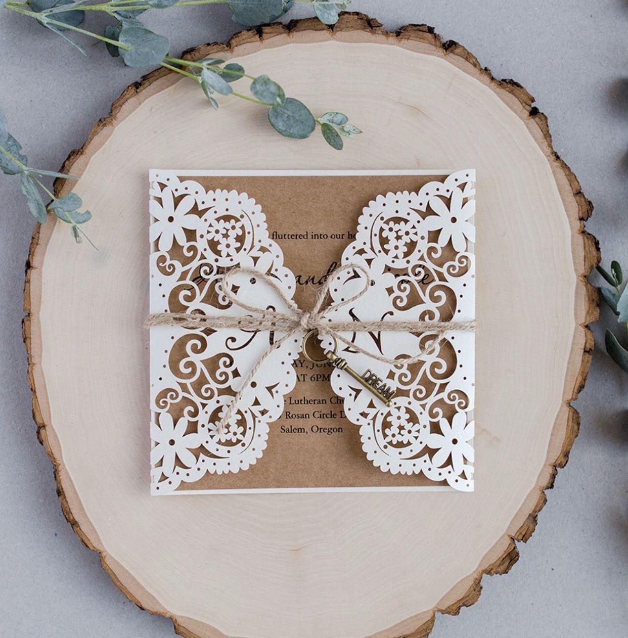 Set The Mood For Everything: Elegant Wedding Invites Set The Mood For Your Wedding