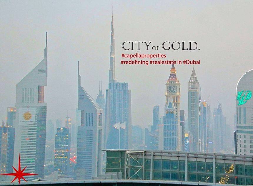 #capellaproperties #realestate # redefining #realestate in #Dubai #city of #gold #UAE #sheikhzayedroad
