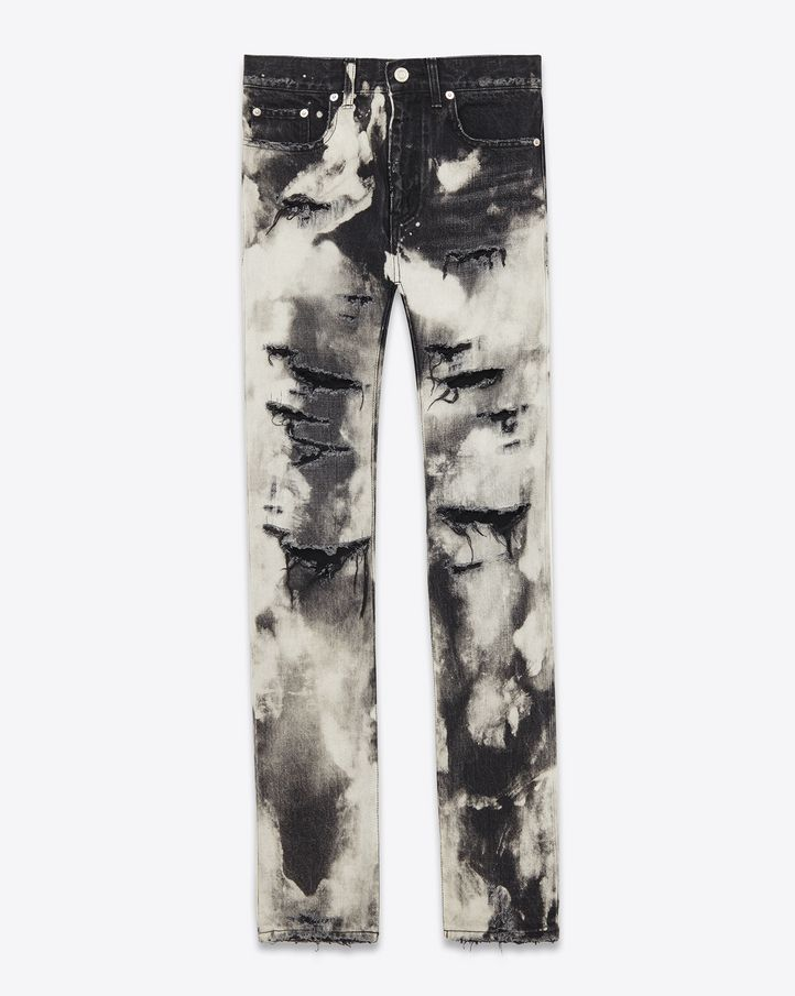 1f32d68767d Saint Laurent Denim Pants: discover the selection and shop online on YSL.com