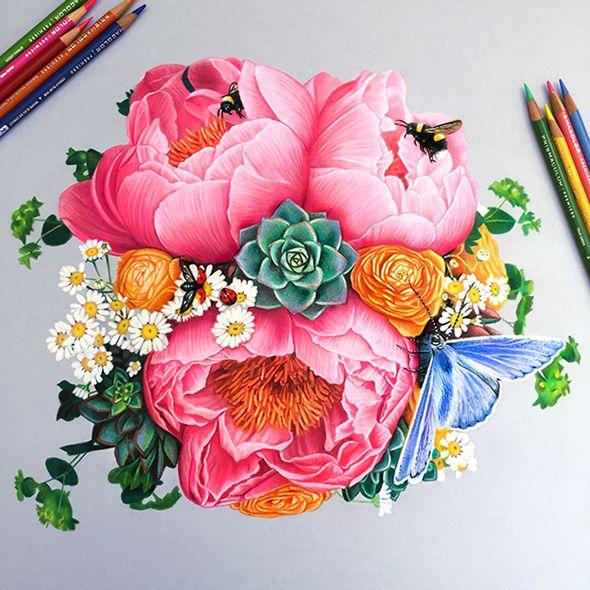 картинки цветные рисунки