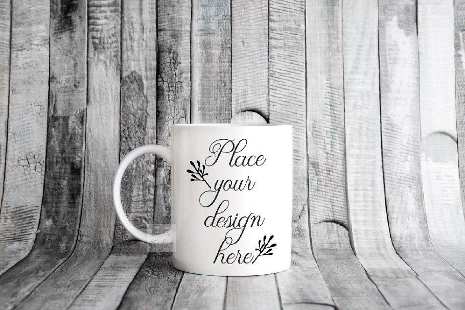 Rustic Mockup coffee mug mock up