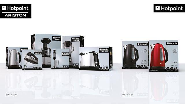 Hotpoint Ariston Small Kitchen Appliances Packaging Design Hotpoint Packaging Design Inspiration