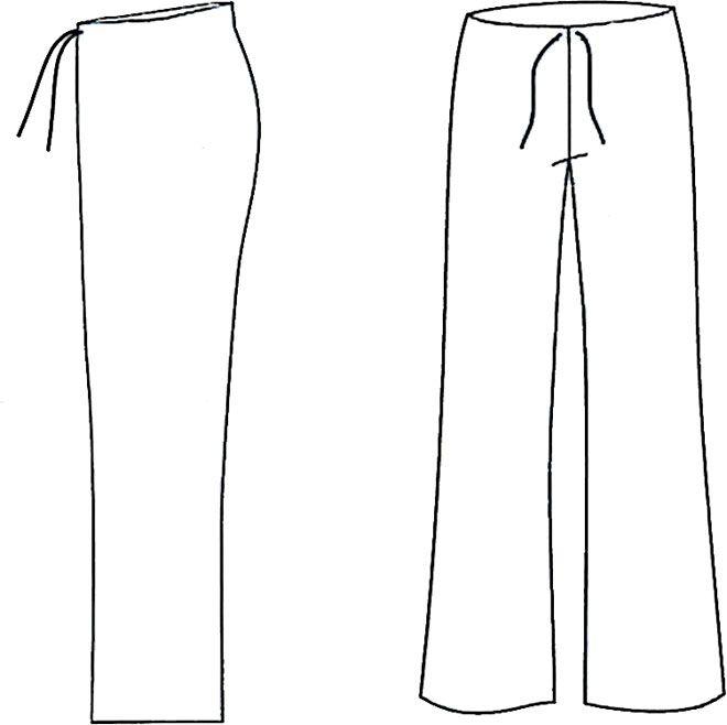 Patrones de pantalones de mujer gratis - Imagui | moldes | Pinterest ...